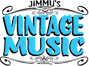 Jimmy's Vintage Music Logo