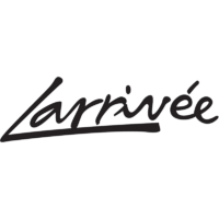 Black Larrivee Guitar Logo