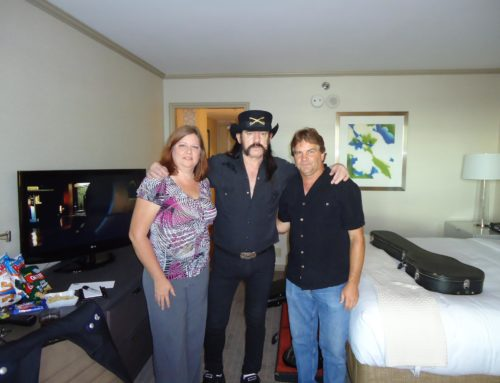 Selling Lemmy a 1972 Gibson EB3