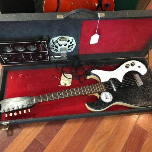 60s Silvertone amp/case  guitar 1448