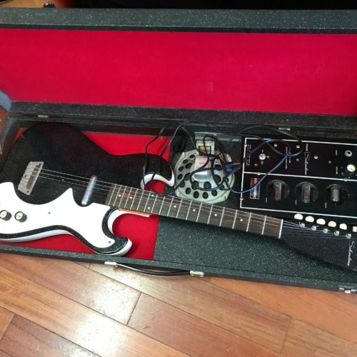 60s Silvertone Guitar Amp/ & case