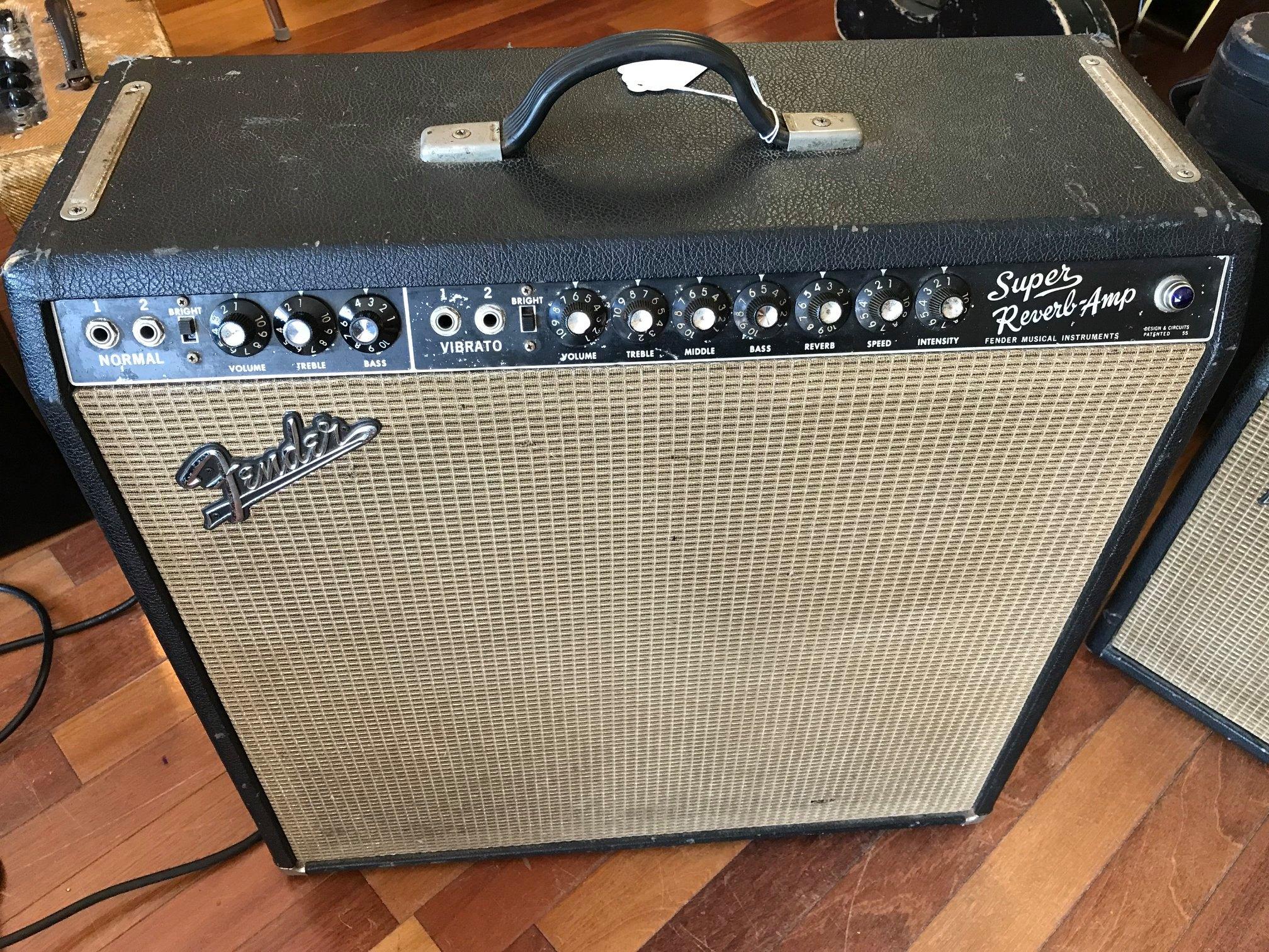 1966 Fender Super Reverb