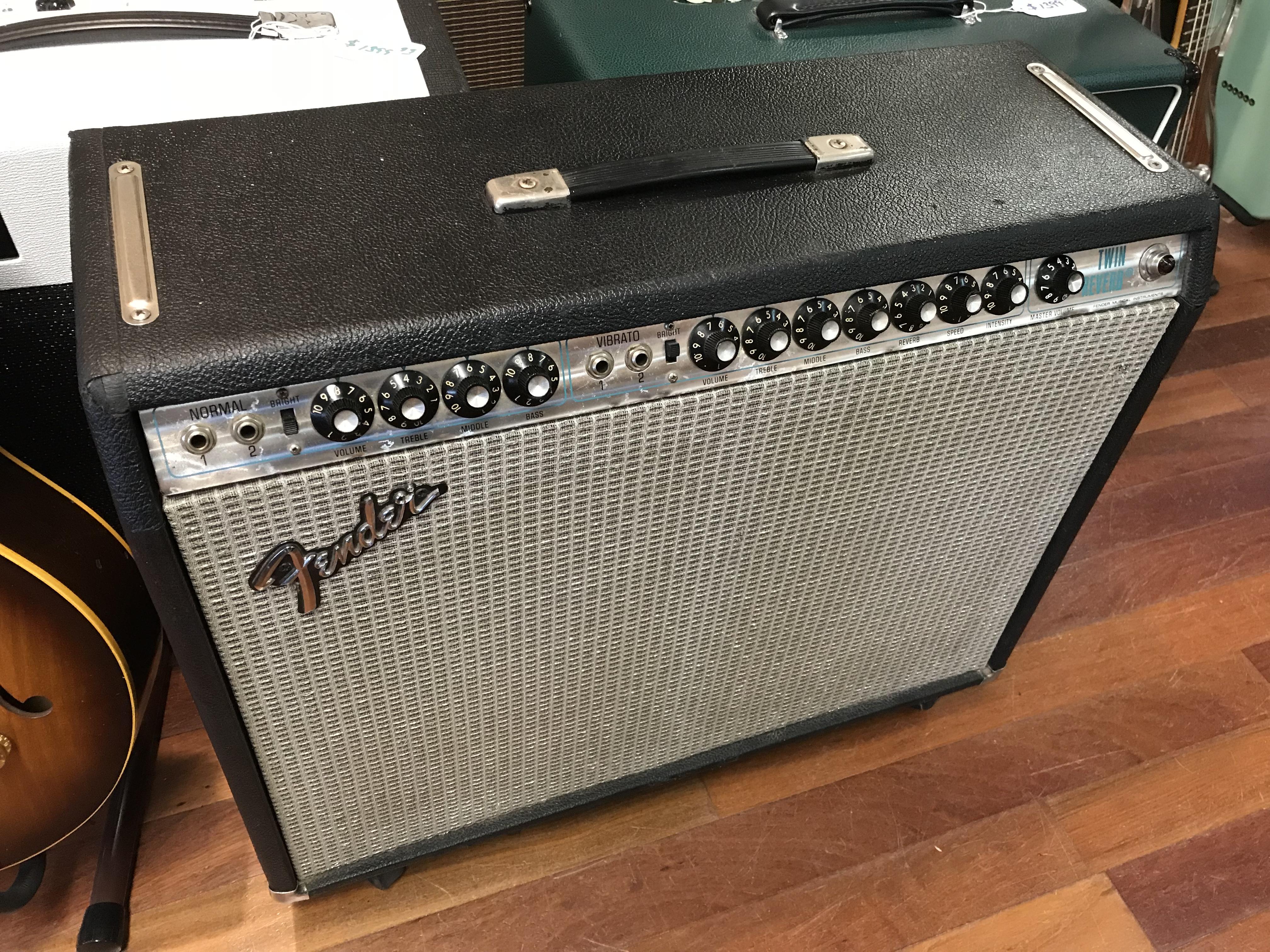 1976 Fender Twin Reverb clean