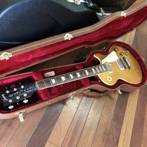 2015 Gibson Les Paul Deluxe Goldtop