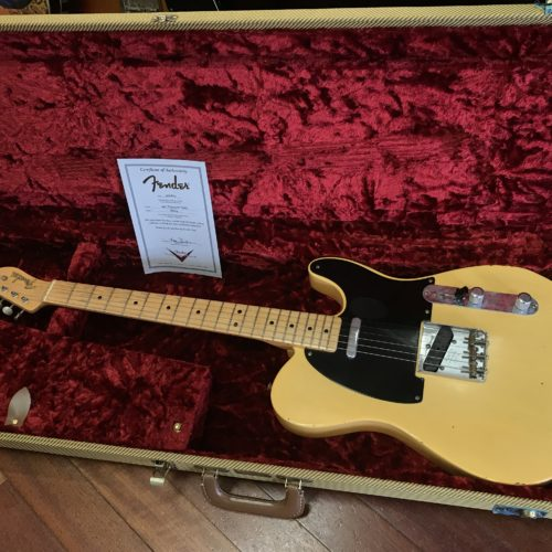 2004 Fender NoCaster Custom Shop RELIC