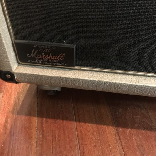 1987 Marshall Jubilee 4×12 Slant cab with 25C Greenbacks