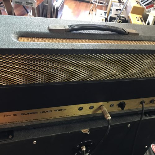 1974 Marshall 100 watt Superlead Head
