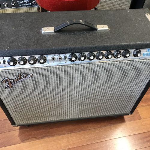 1976 Fender Twin Reverb amp