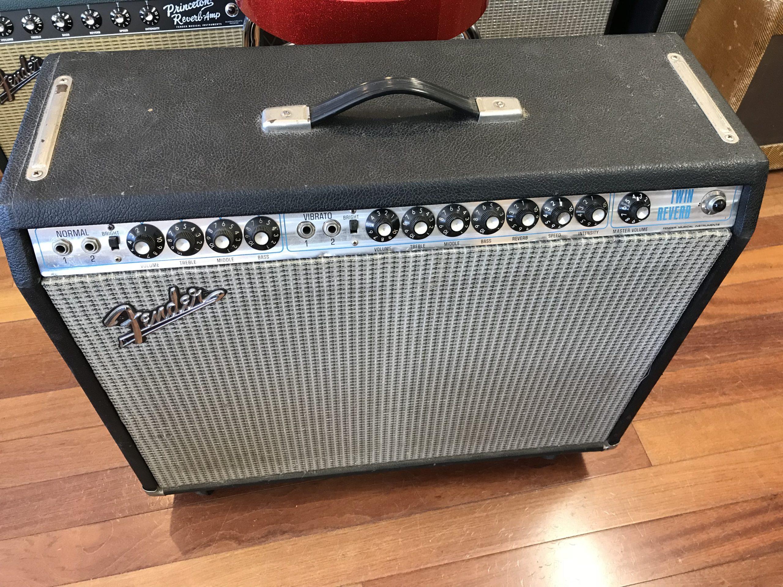 1976 Fender Twin Reverb amp