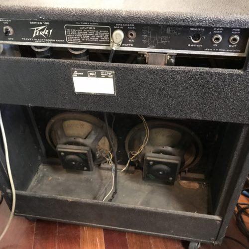 1973 Peavey Classic 4×10 VT Series tube