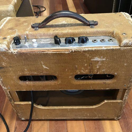 1954 Fender Deluxe Tweed amp