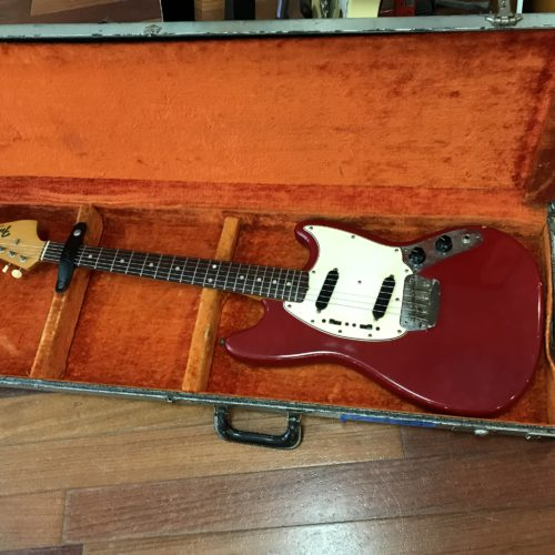 1965 Fender Duo-Sonic L plate