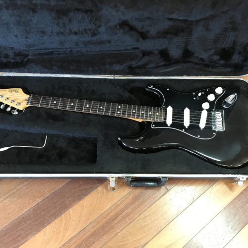 1987 Fender USA Strat Plus Black