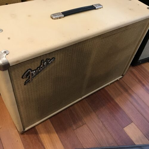 1964 Blond Fender Tremolux 2×10 cab