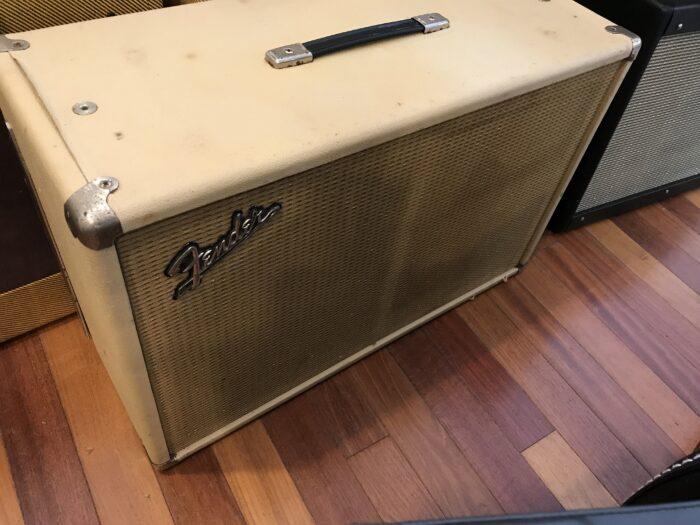 1964 Blond Fender Tremolux 2×10 cab