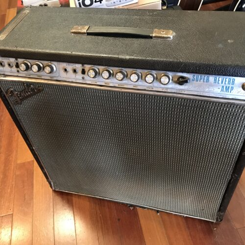 1969 Fender Super Reverb drip edge
