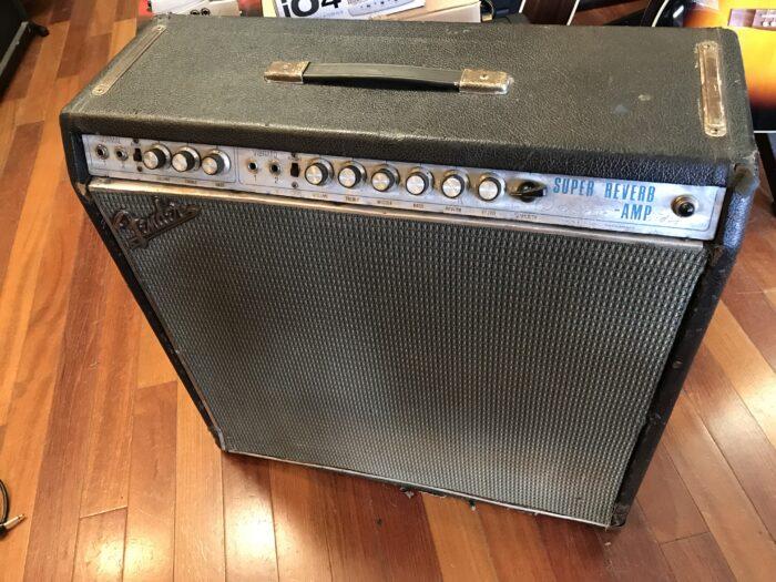 1969 Fender Super Reverb drip edge