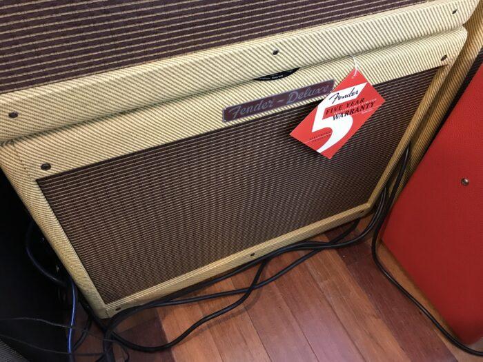 Fender Deluxe 1×12 Tweed cab