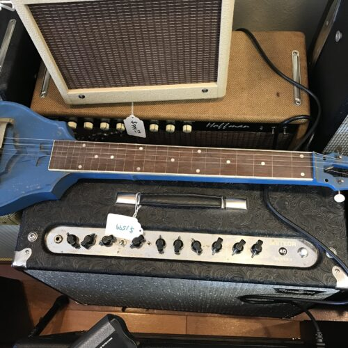 Late 30s Vega metal lap steel