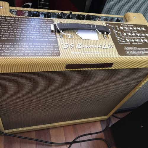 Fender 59 reissue Tweed Bassman