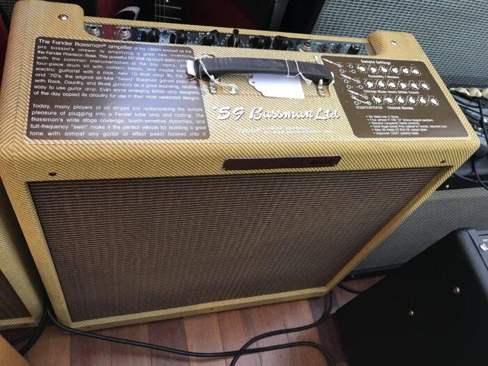 Fender 59 reissue Tweed Bassman