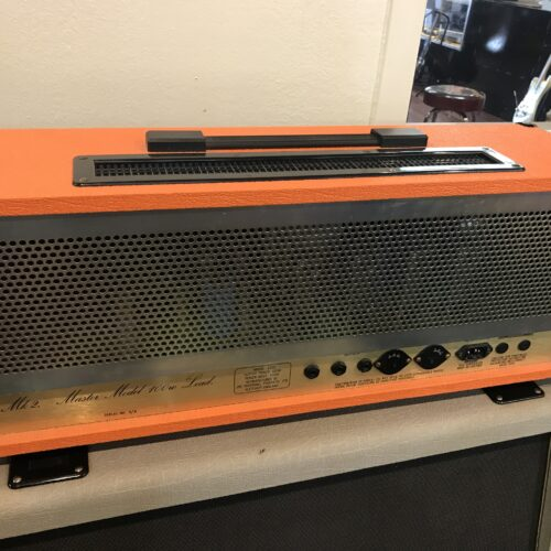 1989 Marshall JCM 800 2203 Original Orange covered mint condition