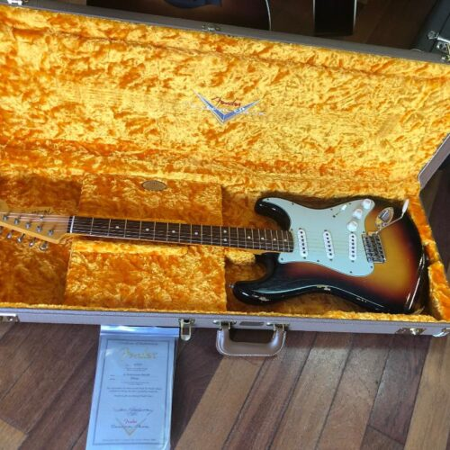 2017 Fender 63 Reissue Stratocaster Relic Custom Shop