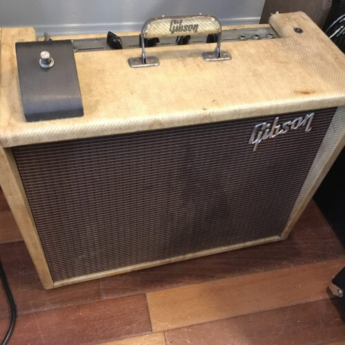 1959 Gibson tweed Explorer GA 18 Original speaker and clean