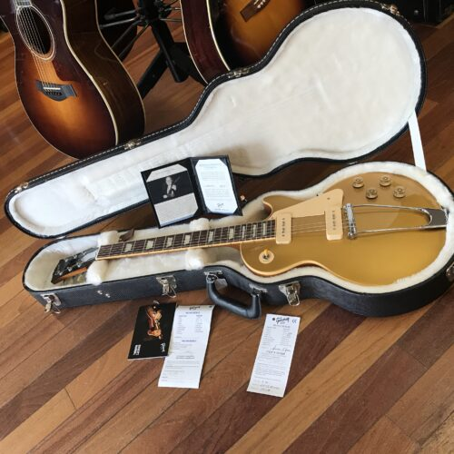 2009 Gibson 52 reissue Prototype Les Paul Goldtop