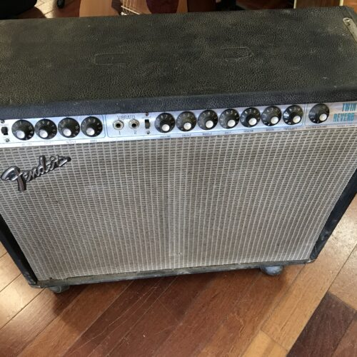 1976 Fender Twin Reverb project