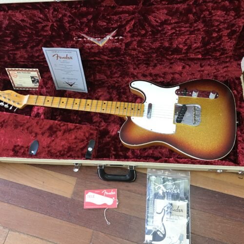 2016 Fender Ltd Pomo Telecaster Journeyman/cc Custom Shop