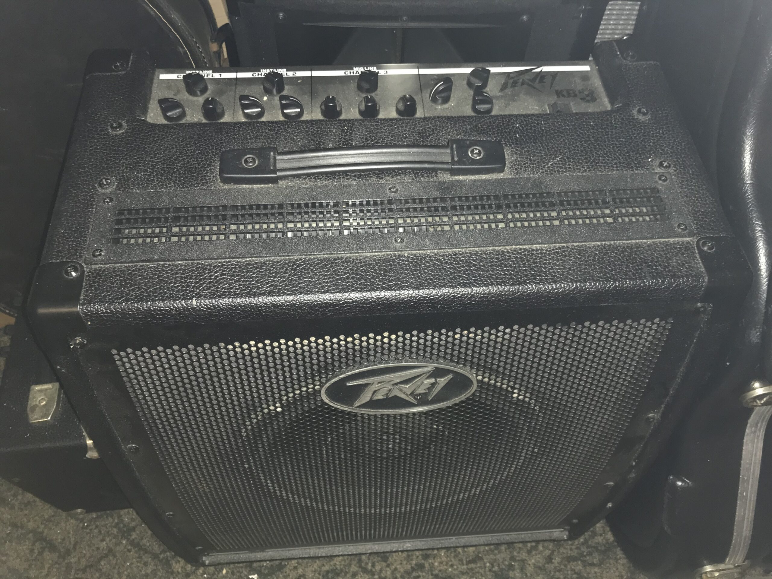New Peavey KB 3 amp