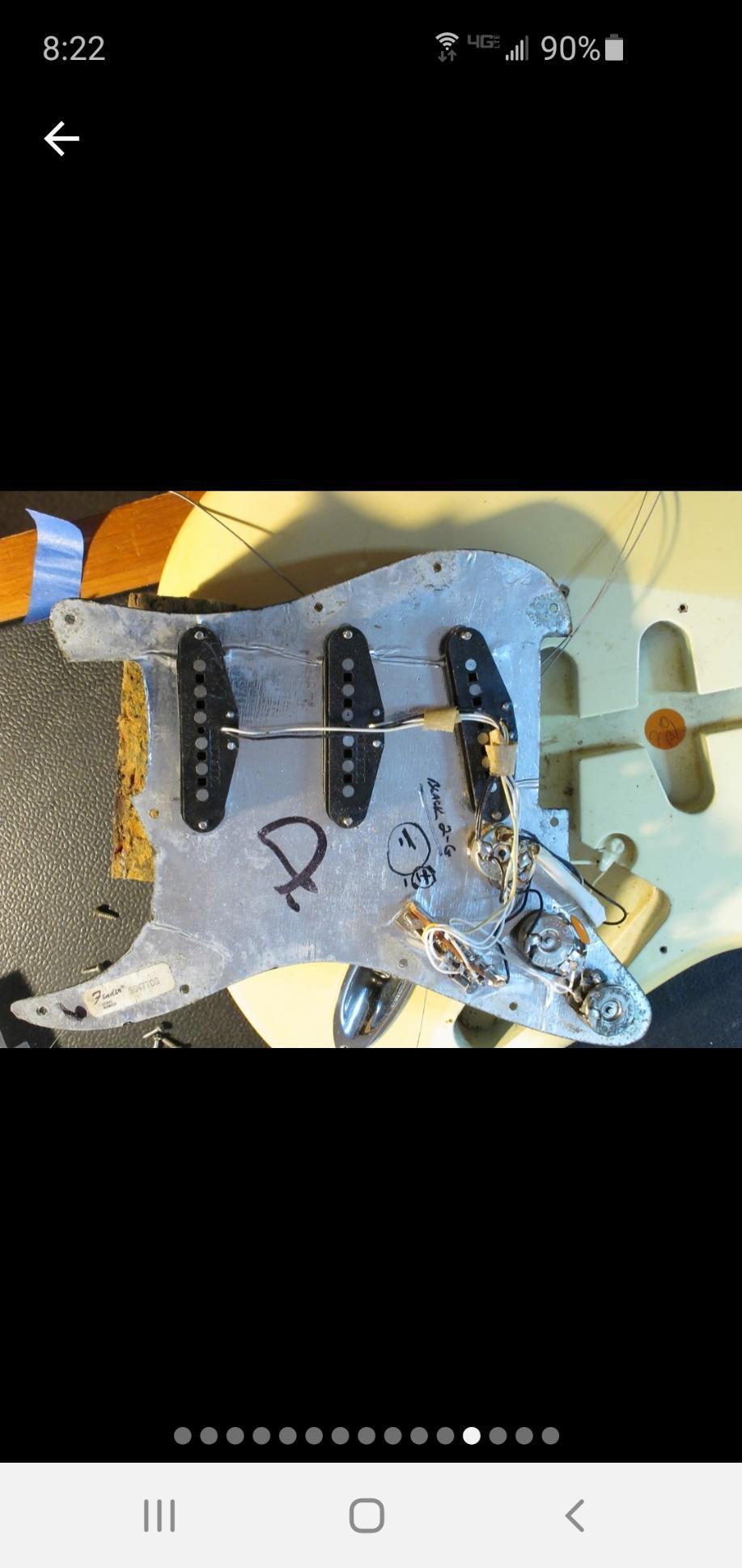 1979 Fender Stratocaster rosewood neck