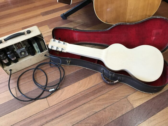 30s mint Rickenbacher model 59 lap steel and amp