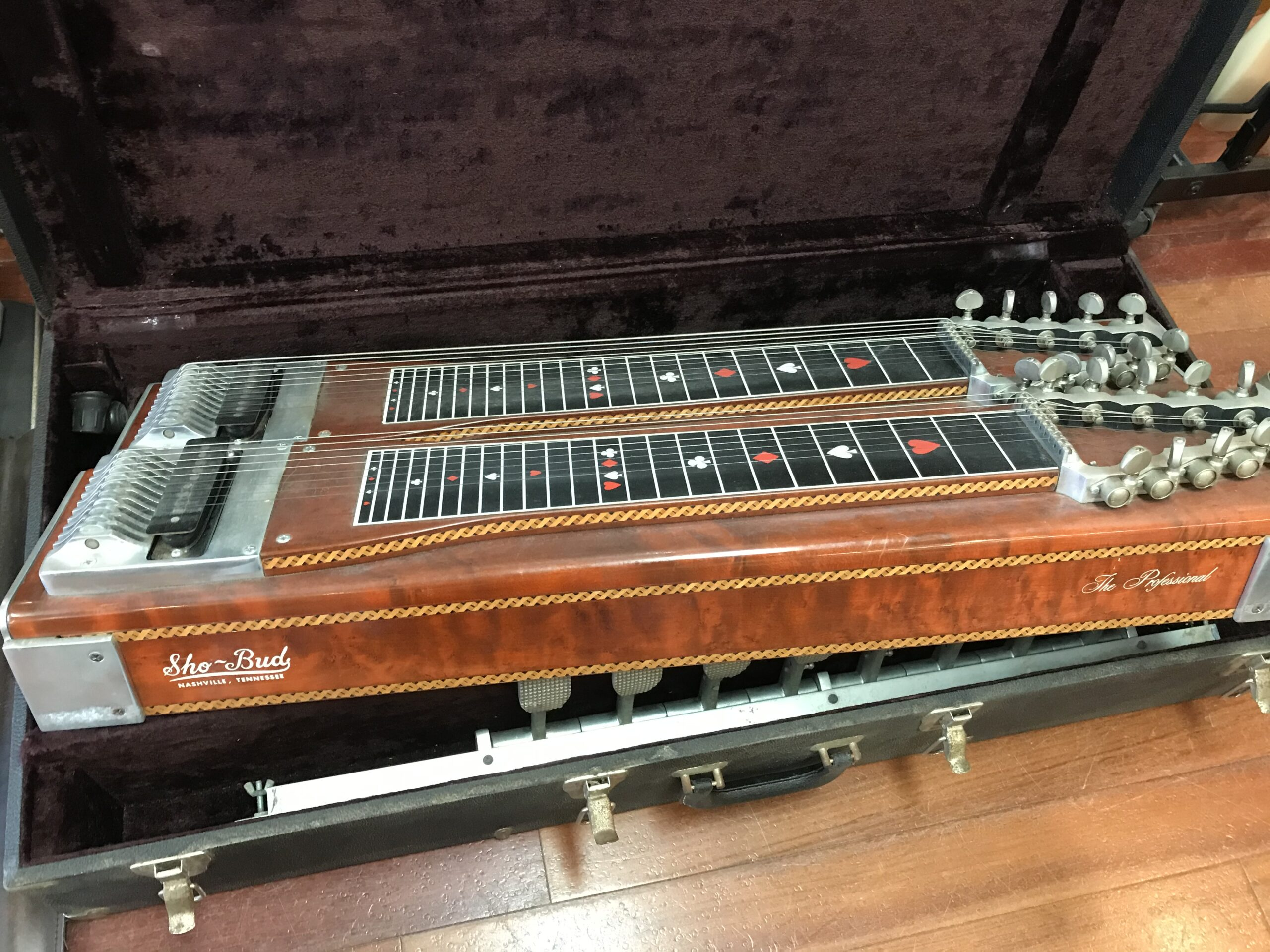 70s Sho Bud the Professional double pedal steel