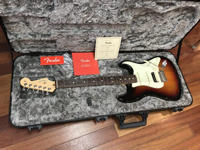 2017 Fender Stratocaster USA Professional