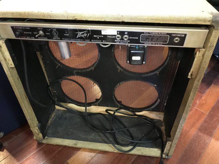 1973 Peavey Classic tweed 4×10 project