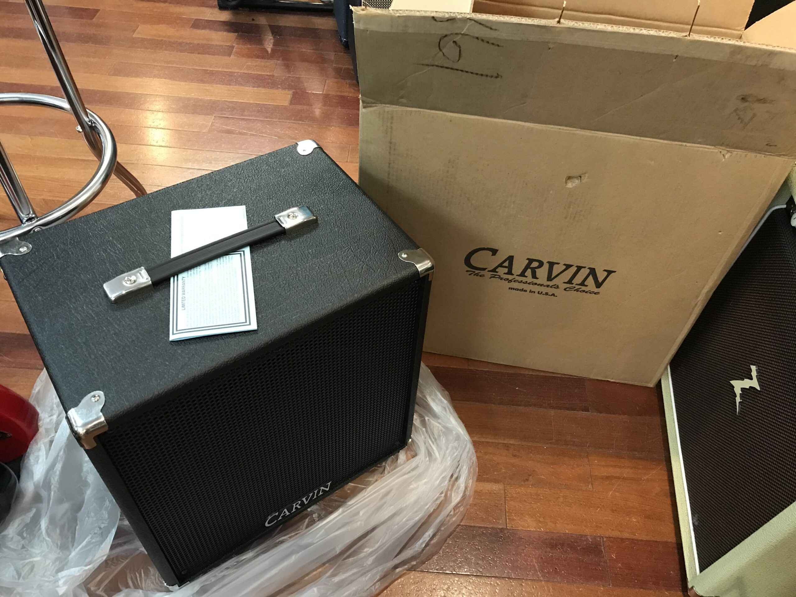 New Carvin 1×12 cab