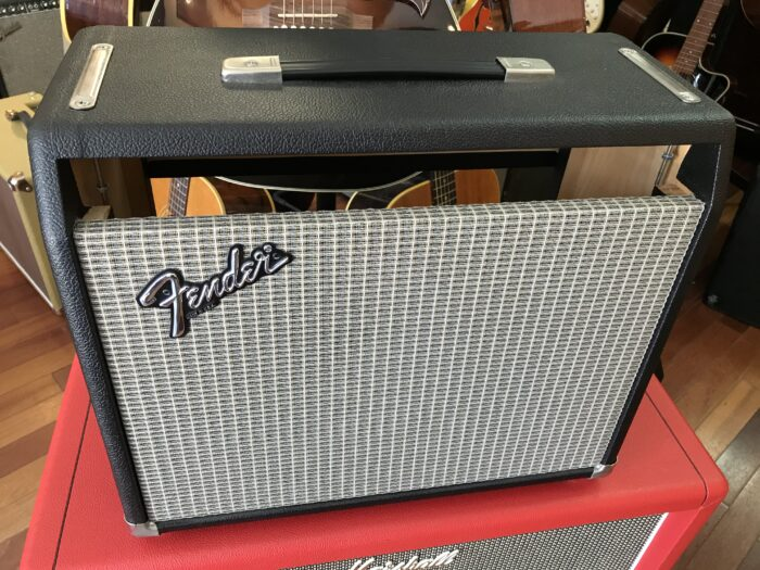 Mathers Princeton Reverb cab with speaker