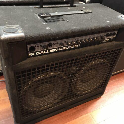 Gallien Krueger 700 RB bass amp 2×10