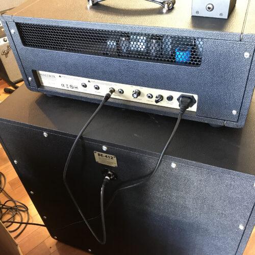 Friedman Smallbox 50 watt head and BE 412 Cab