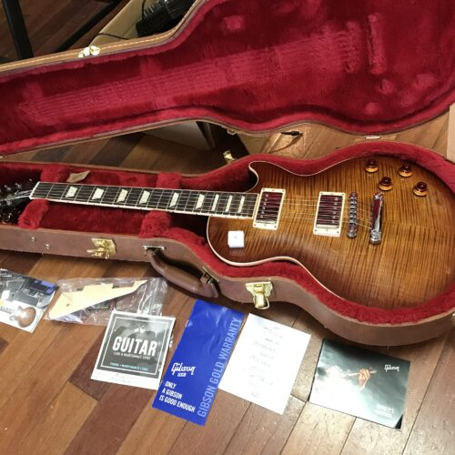 2019 Gibson Les Paul Standard big flame mint