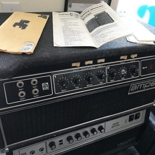 1978 Ampeg SVT bass head