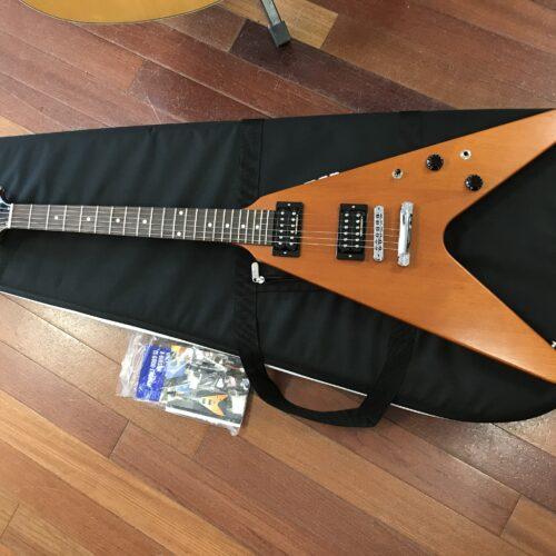 2016 Gibson Flying V Limited Trans Amber