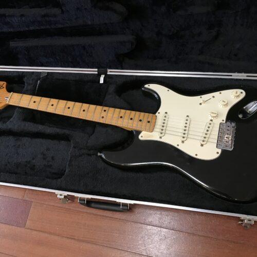 1973 Fender Stratocaster all original parts black refin