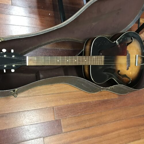50s Silvertone Archtop super clean