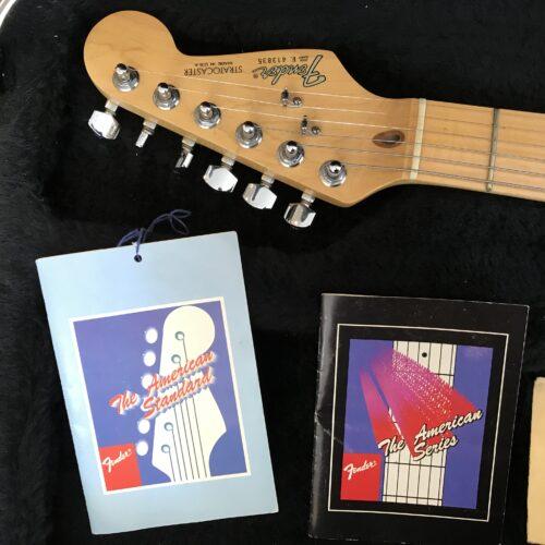 1987 Fender Stratocaster Torino Red E4 serial number mint
