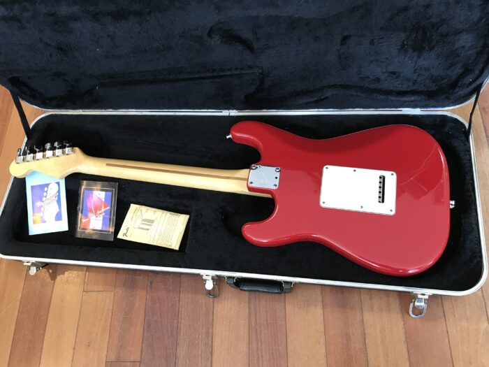 1987 Fender Stratocaster Torino Red E4 serial number mint