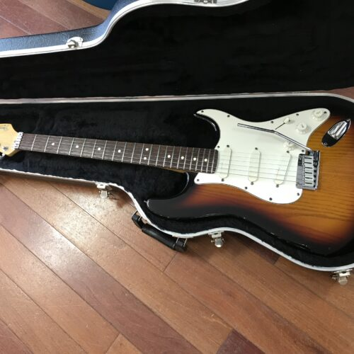 1991 Fender Deluxe Strat Plus Sunburst
