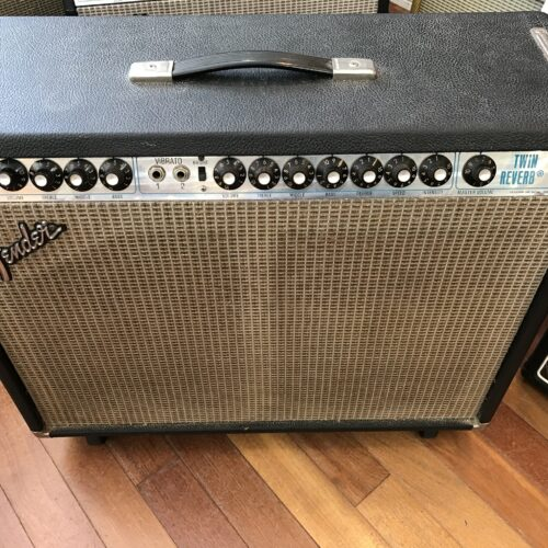 1977 Fender Twin Reverb all original